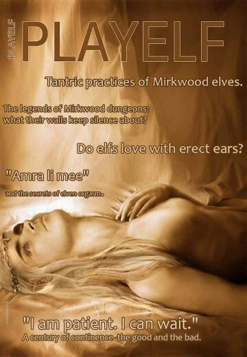 PlayElf magazine presents: The Erotic Thrandy's Bedroom Hymns...  9ecddeff7e60e3456340a41c463edb04