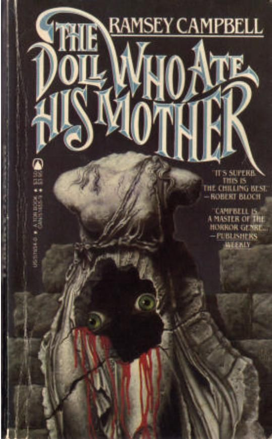 The Doll Who Ate His Mother | The Best Horror Paperback Art