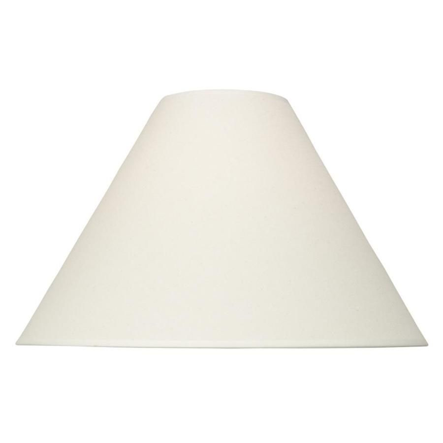 Bell Lamp Shade Awesome Portfolio 12In X 19In Natural Fabric Bell Lamp Shade  Livingroom Design Inspiration