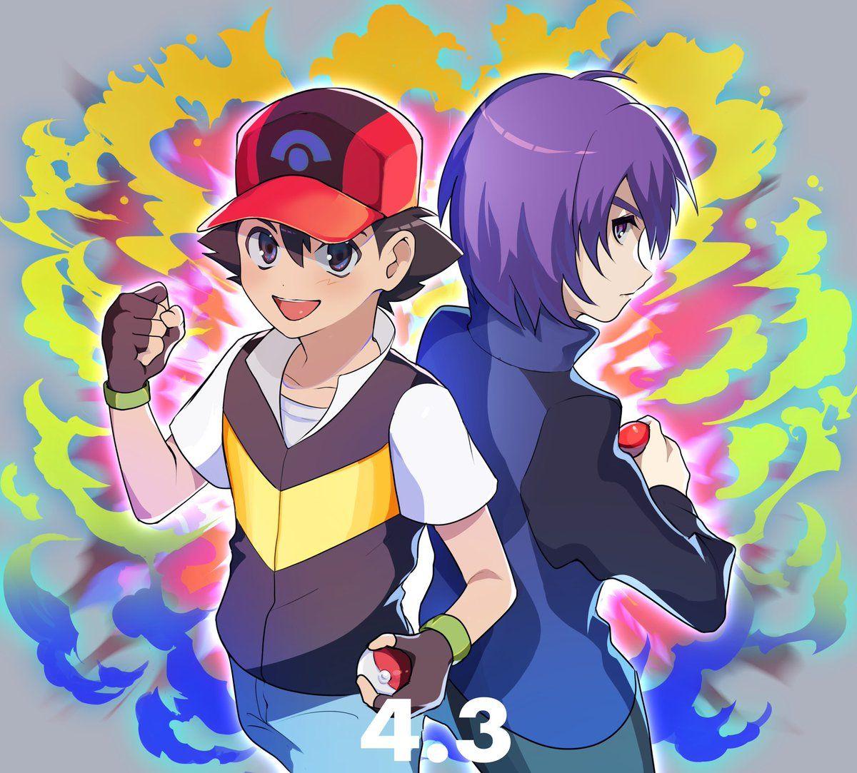 たなか on Twitter in 2020 Pokemon, Anime, Pokemon ships