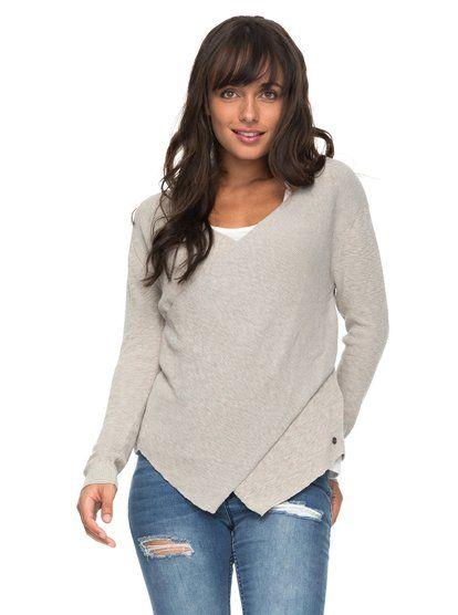 Love At First Light Wrap Sweater ERJSW03227 | Roxy