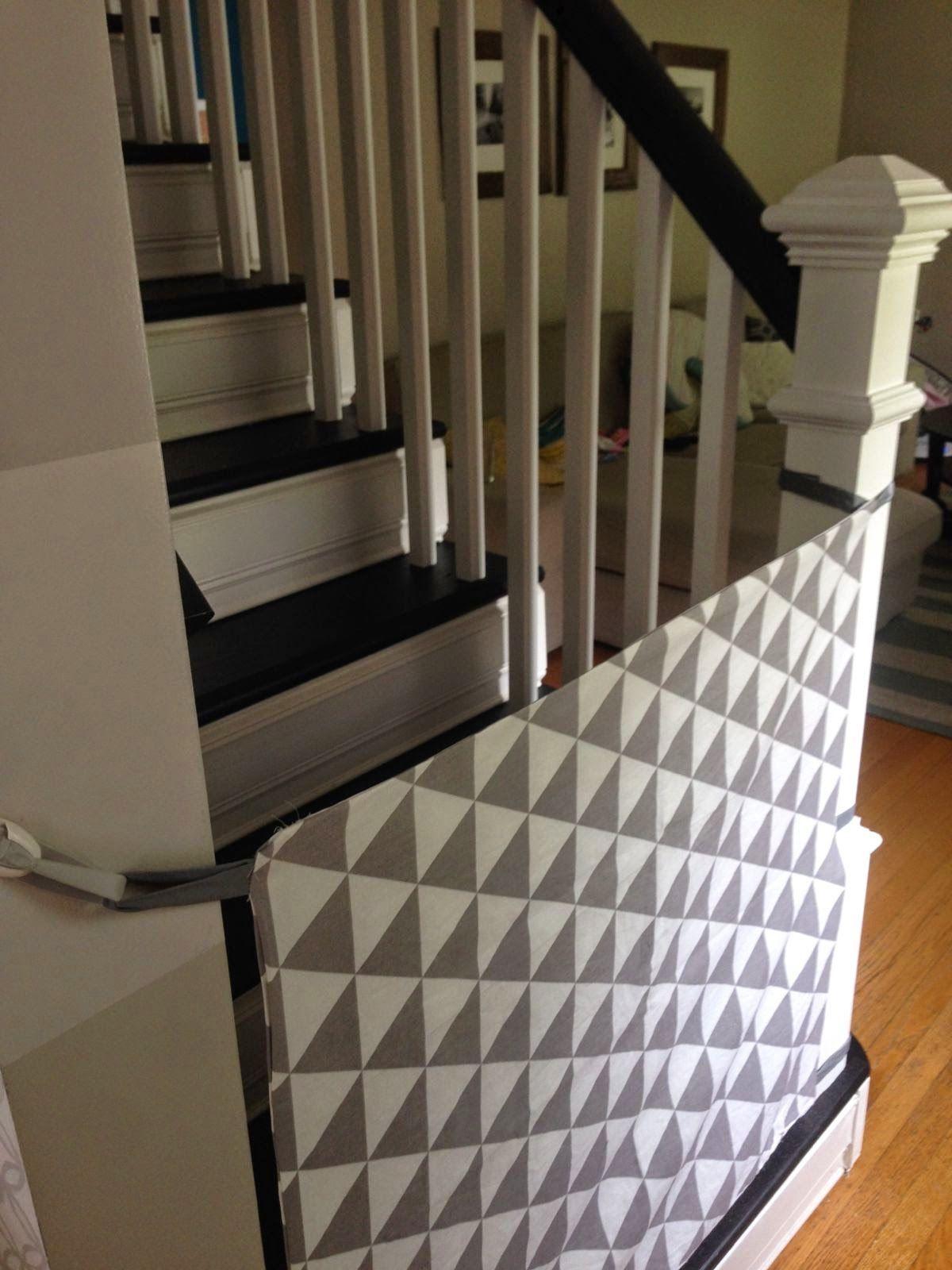 8 Amazing DIY Baby Gates | Diy baby gate, Fabric baby ...