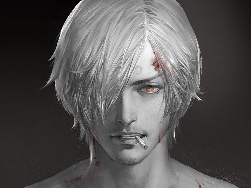 Anime Characters Realistic : Realistic one piece character drawings anime manga and fanart