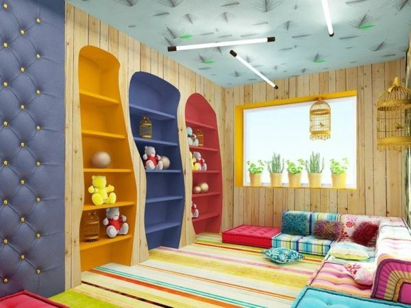 Modern ideas for kindergarten interior for Imitazioni mobili design