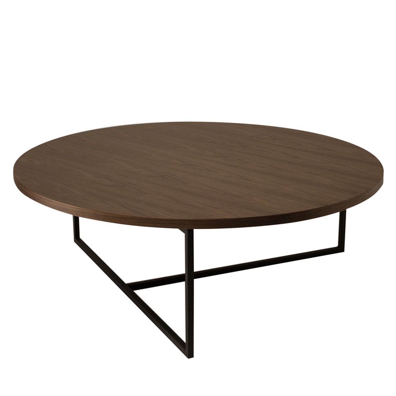 Dolf Round Coffee Table Coffee Table Coffee Table Wood Round Black Coffee Table [ 1500 x 1500 Pixel ]
