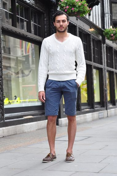Shorts And Summer Jumper Men S Look Asos Fashion