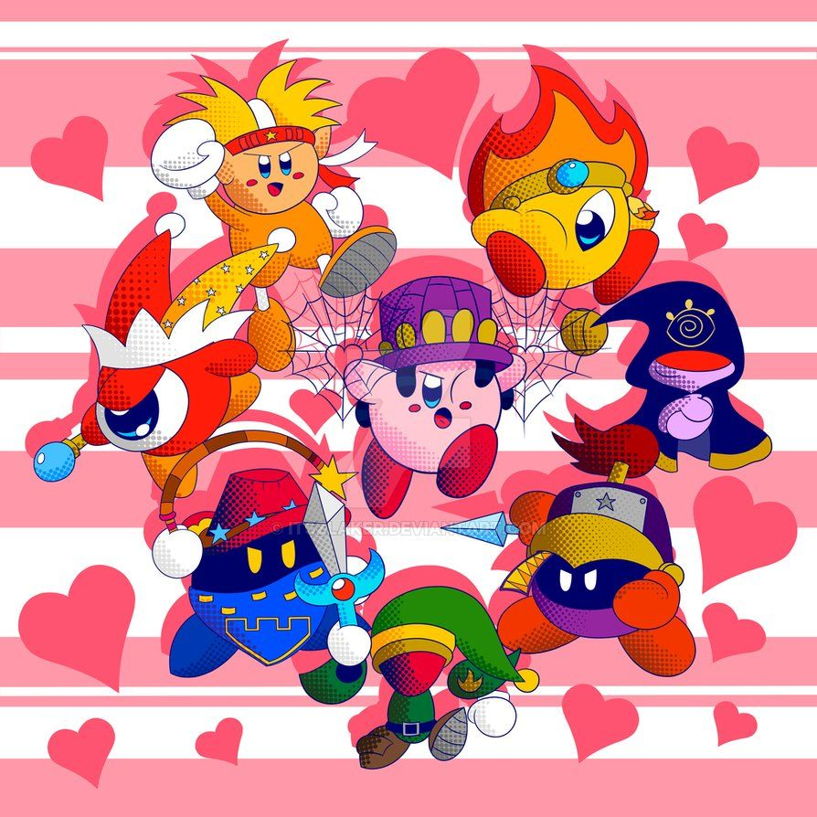Kirby star allies kirby and his friends by itszlakeriantart kirby star allies kirby and his friends voltagebd Gallery