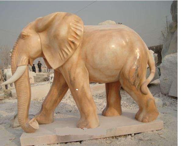 Elephant Statue Concrete Statue In The Garden Artistic 400 x 300
