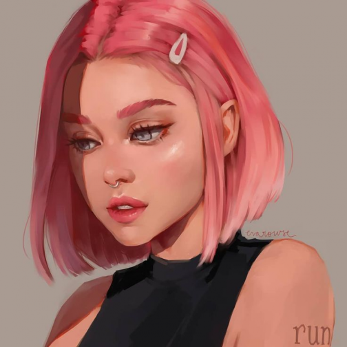 Eva Rowse on Instagram: I've been loving these ... - #Eva #Instagram #Ive #loving #Rowse #sakura #digitalart #digital #art #characters