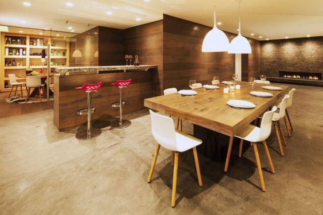 Möbel fürs Esszimmer \u2013 90 Ideen für gemütliche Essgruppe Esszimmer - esszimmer modern gemutlich