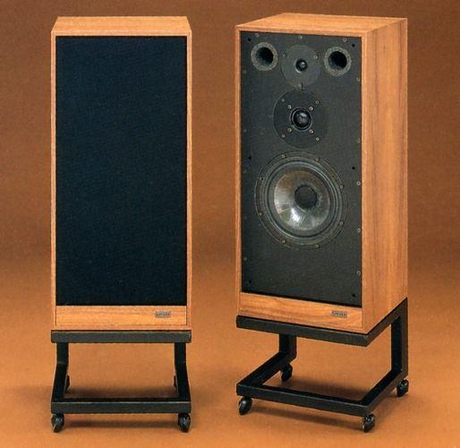 Vintage audio speakers Spendors SP1\/2 - balanced, natural, refined - ikea sideboard k amp uuml che