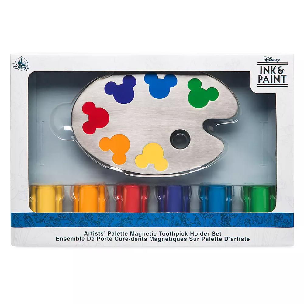 Disney Ink & Paint Toothpick Holder Set