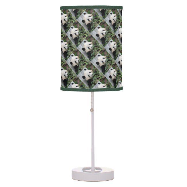 Cute Pandas Table Lamp Green and White Table Lamp #panda #pandas #bear #bears #cute #TableLamp #panda #pandas #cutepandas #giantpandas