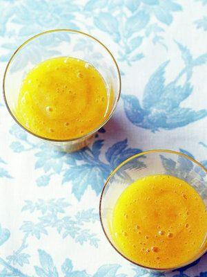 【ELLE a table】オレンジスムージーレシピ|エル・オンライン