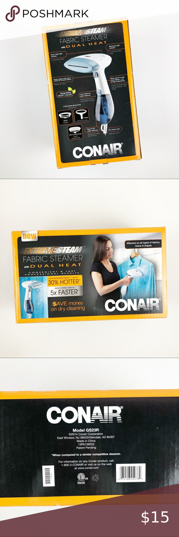 Conair Extreme Steam Hand Held Fabric Steamer in 2020