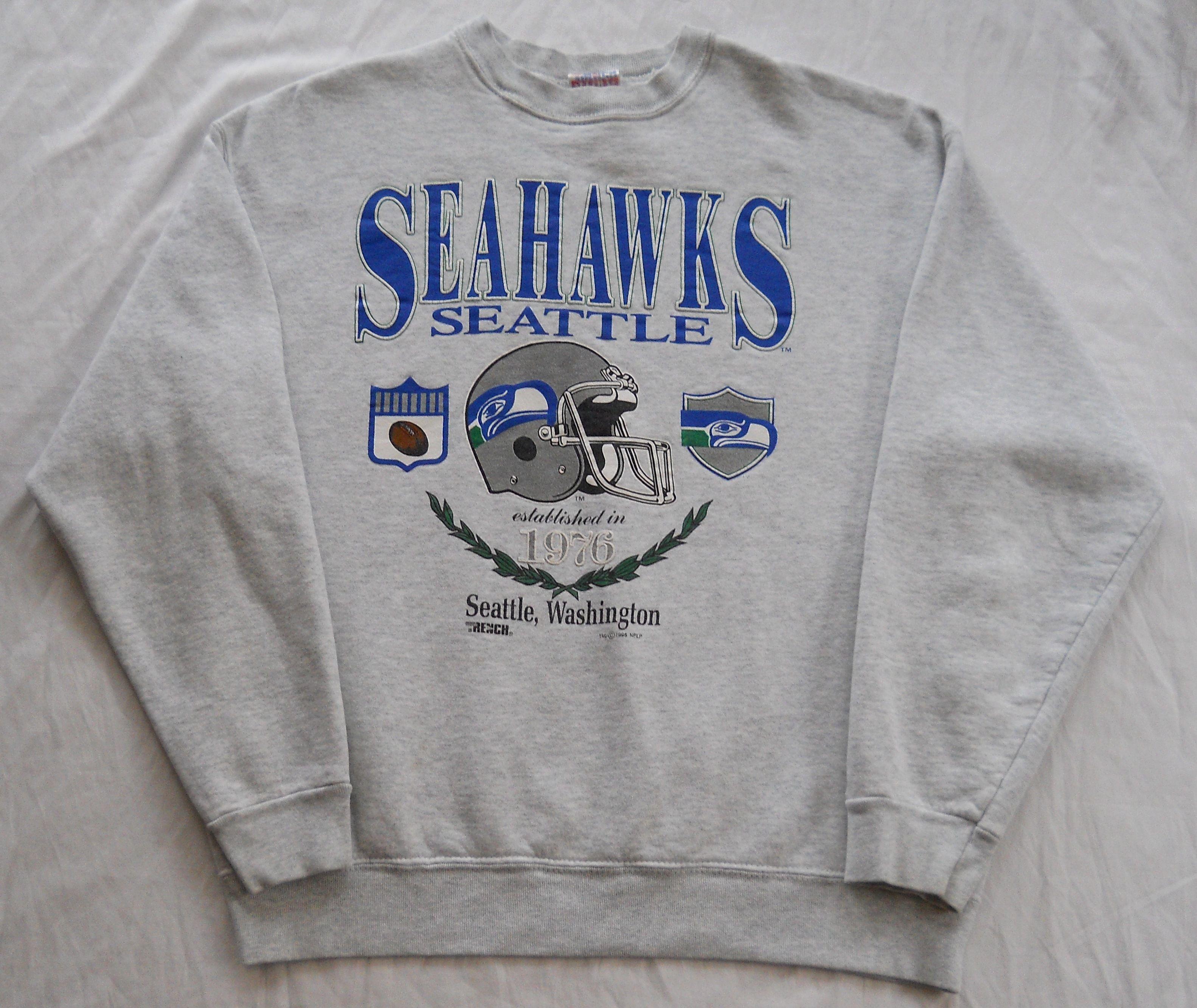 Predownload: Vintage 1995 Seattle Seahawks Sweatshirt By Trench Men S Xl Pre Owned Seahawks Sweatshirt Sweatshirts Seattle Seahawks Sweatshirt [ 2666 x 3165 Pixel ]