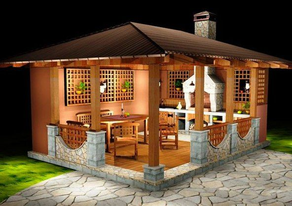 Garden House Ideas a small-house for the garden, gazebo ideas. | for the home