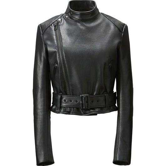 Uniqlo Baw7xpp Biker Leather Mujeres Jacket Roitfeld X Pinterest Carine TulK3JcF1