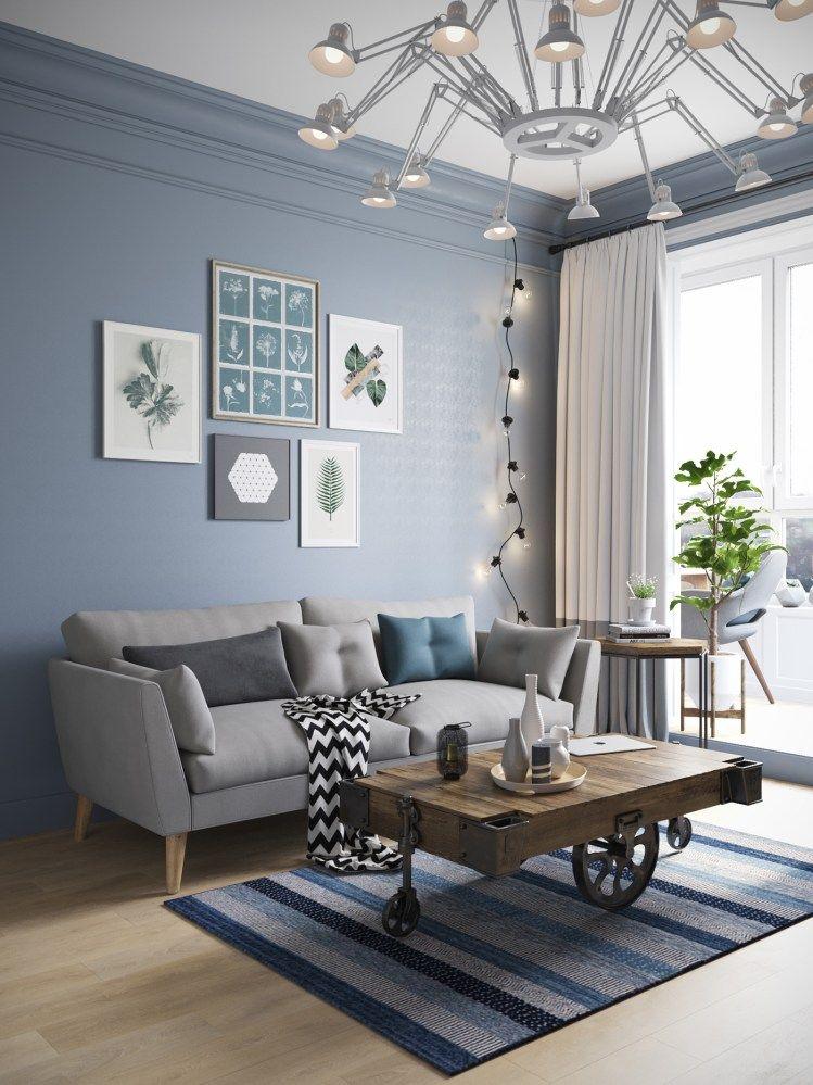 Pin de virna fernandez en livings para disfrutar sala for Iluminacion departamentos pequenos