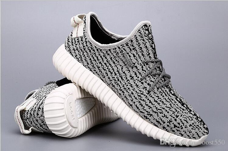 2016 Original Kanye West Yeezys Boost 350 2016 Moonrock Kanye Shoes Pirate Black Yeezy Yeezy Boost Running Sport Shoes