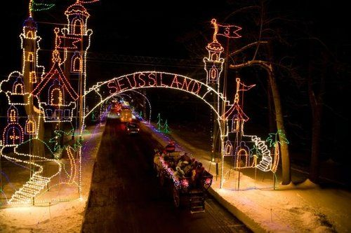 bright nights at forest park springfield - seuss land | Centennial ...