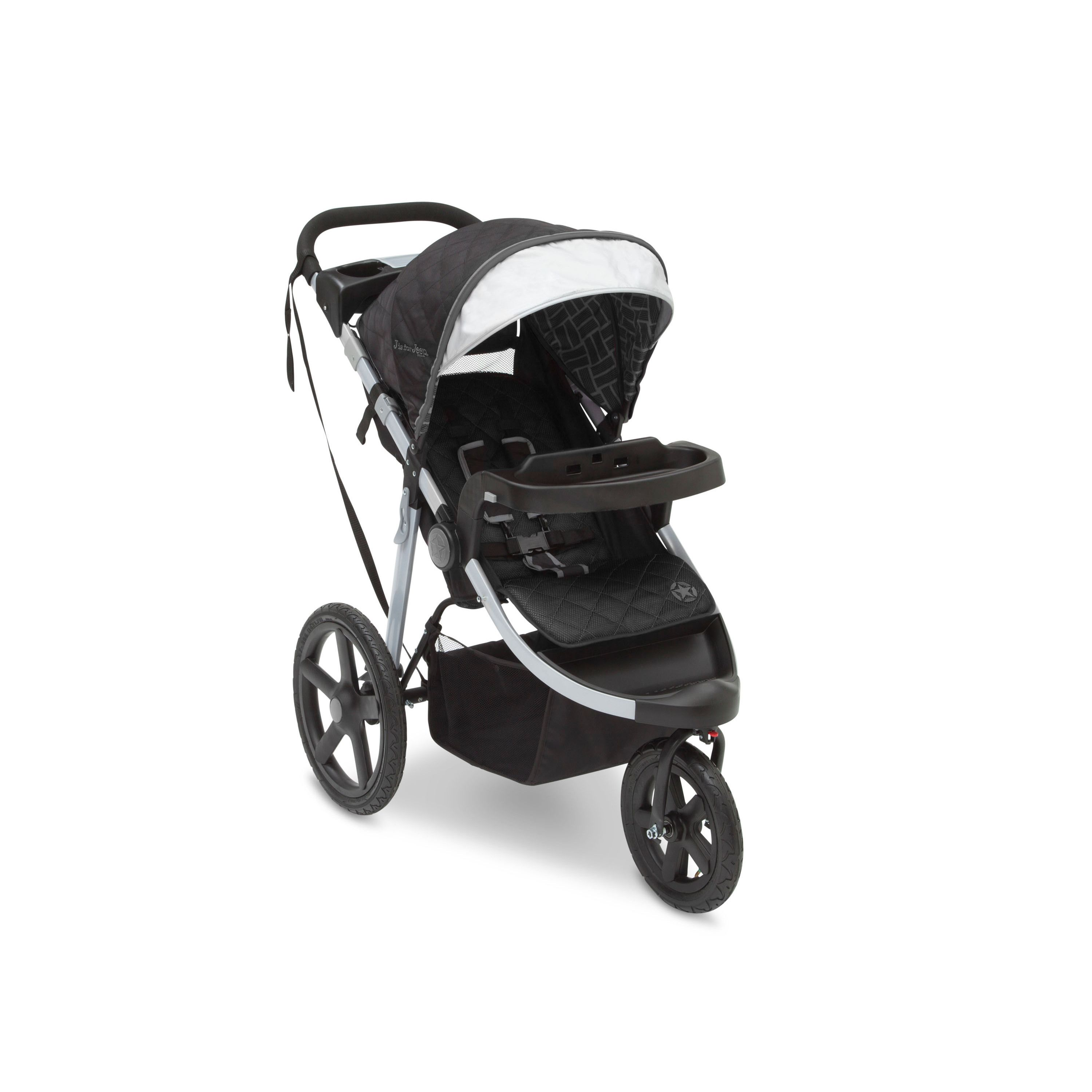 Delta Children J Is For Jeep All Terrain Jogging Stroller With