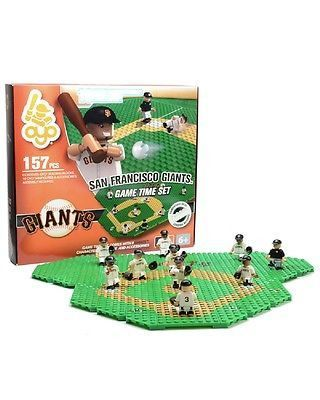 San Francisco Giants GAME TIME Set OYO G4 Quick Click and FREE Minifigure Offer
