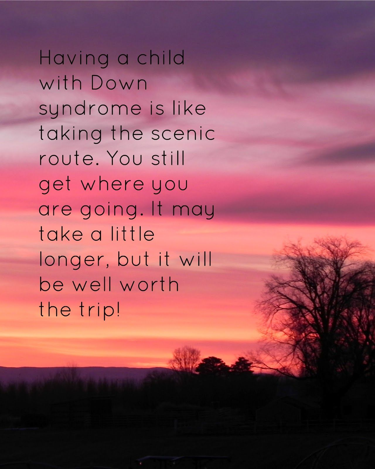 down syndrome quotes and poems | read this inspirational ...