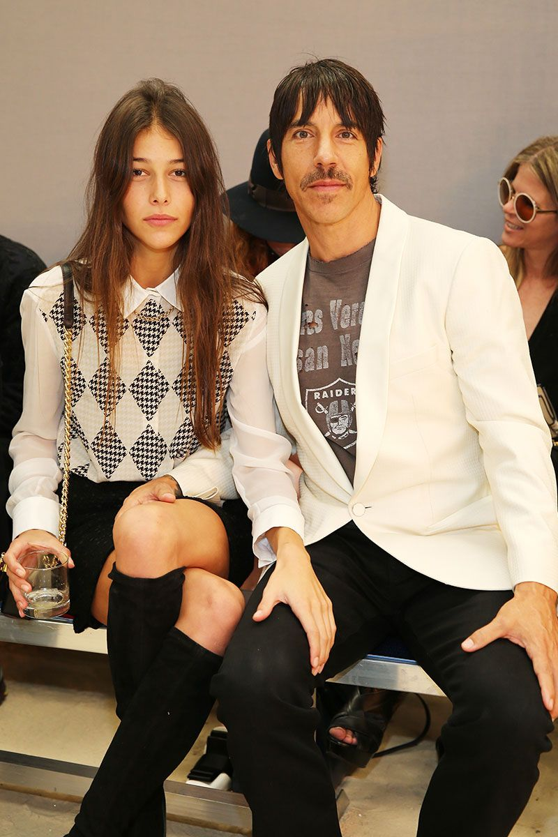 Presently Anthony Kiedis Is In Relationship W 20 Year Old Model Helena Vestergaard He 51