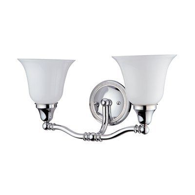 The Art Gallery Shop DVI Light Jubilee Wall Sconce Chrome at Lowe us Canada Find our selection of bathroom vanity lighting at the lowest price guaranteed with price