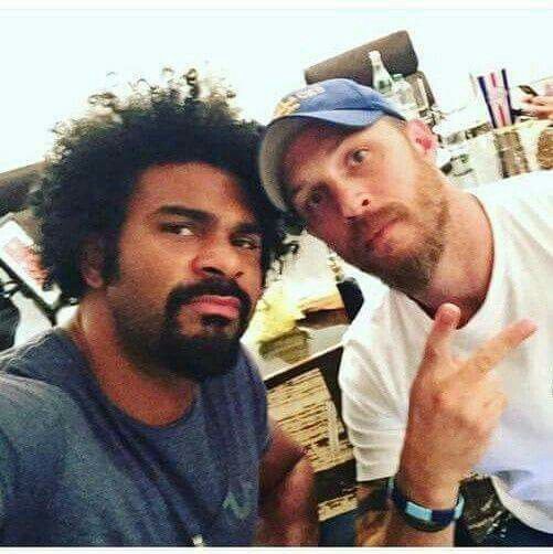 Tom and David Haye ❤
