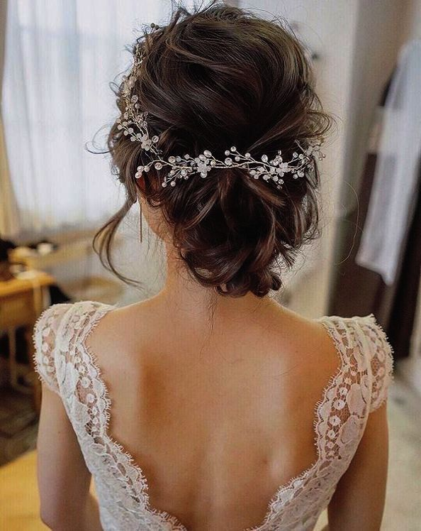 Simple Updo Hairstyles For Shoulder Length Hair Simple Indian Wedding Hairstyle Step By Short Hair Bride Crystal Bridal Hair Vine Boho Hairstyles For Long Hair