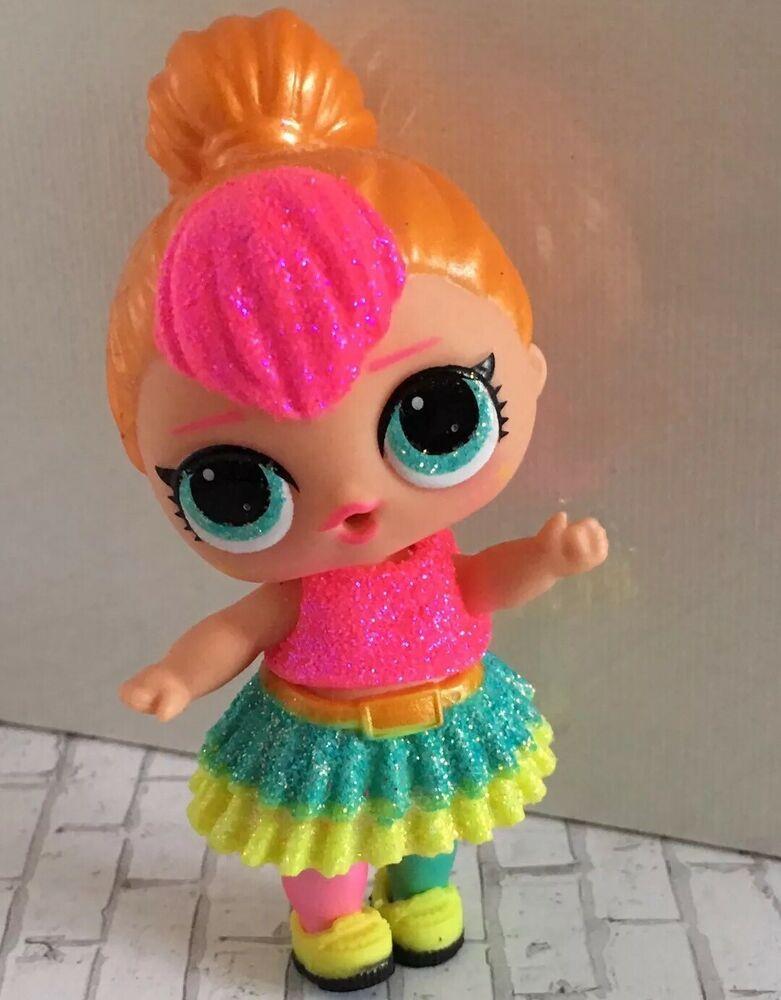 Lol Surprise Doll Glam Glitter Neon Qt Authentic Sparkle Doll Ebay Lol Dolls Dolls Baby Riding Toys