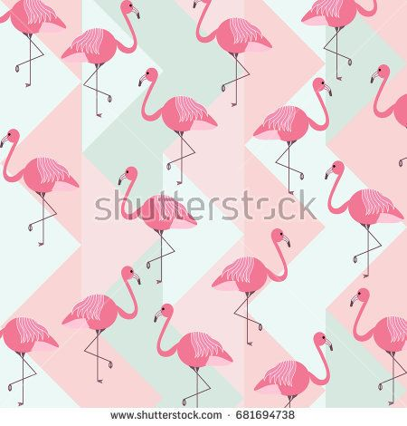 Image by Shutterstock Flamingo With Exotic Flowers Women/'s Tee