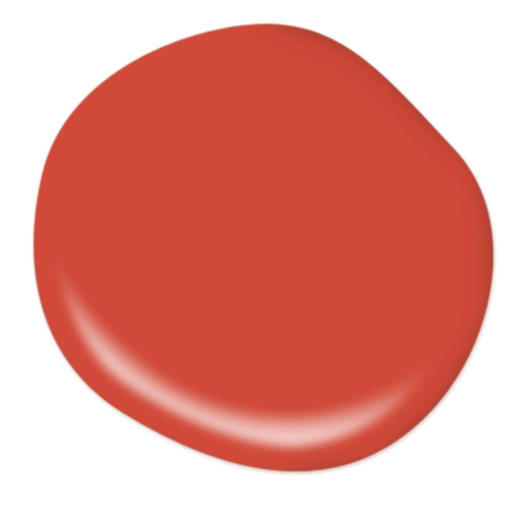 behr premium plus 8 oz p180 7 top tomato flat interior on behr premium plus colors id=76410
