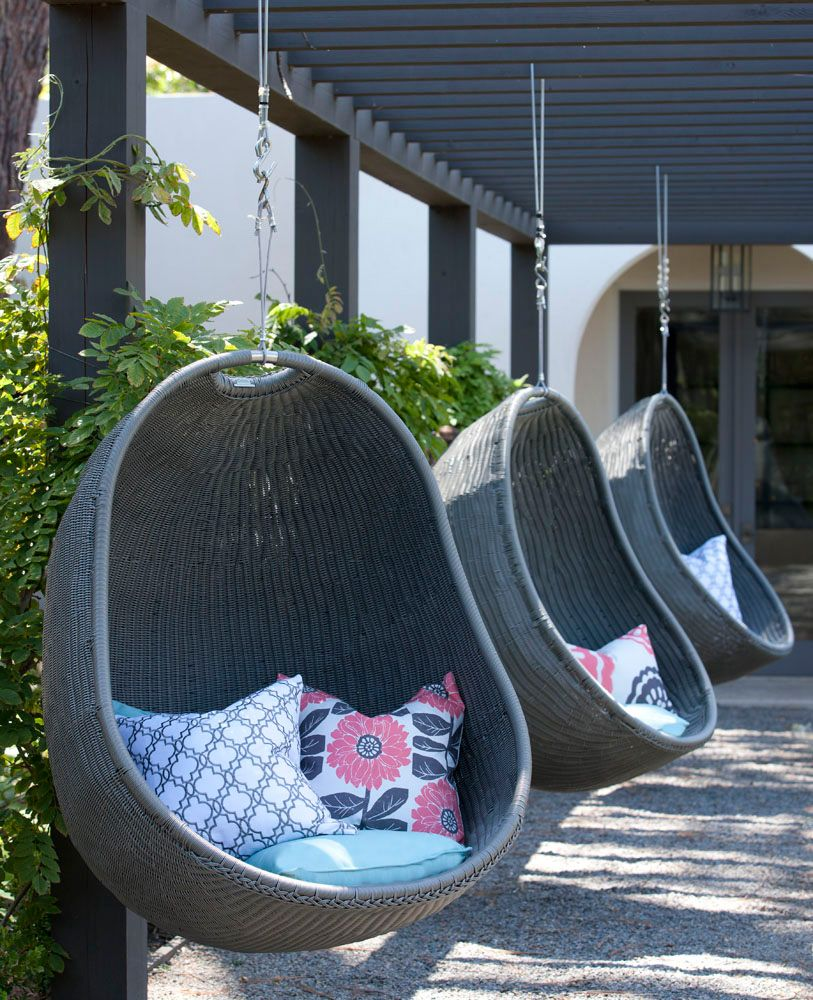 Hanging patio chairs and swings zen hanging chair patio