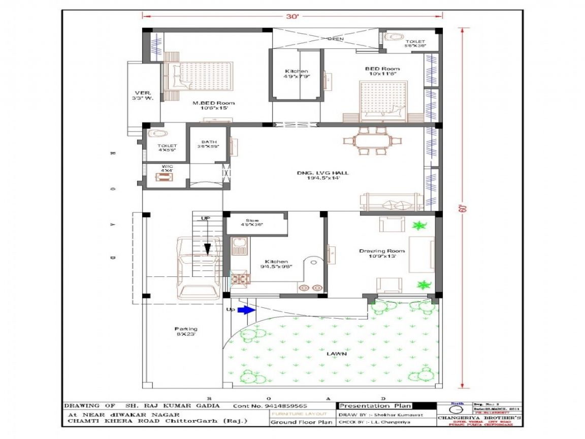 Beautiful home map design free layout plan in india images for Home architecture map