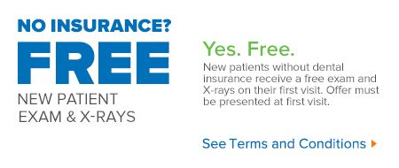New Patients Without Dental Insurance Receive A Free Exam And X Rays On Their First Visit Offer Must Be Presented At Firs Aspen Dental Dental Dental Insurance