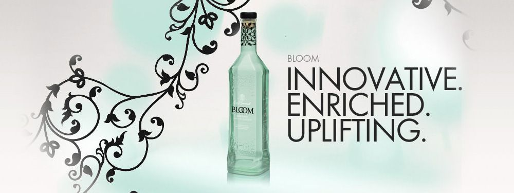 BLOOM. London dry made with demineralised spring water
