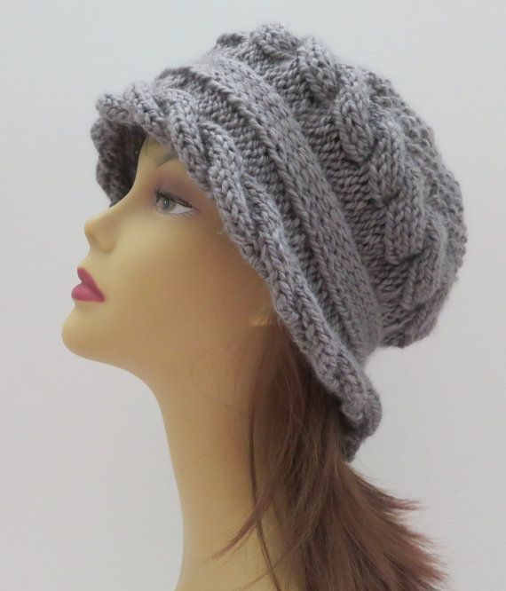Hat Pattern, Knitting Pattern, PDF 155 Knitting Hat Pattern ...