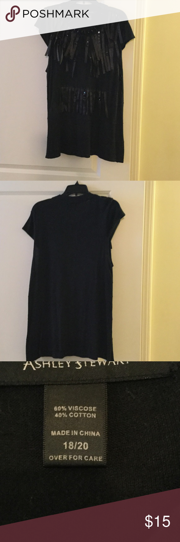 Great Top Great to go out in. Dress up those jeans ! Ashley Stewart Tops Blouses