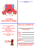 Ultimate Free Printable Birthday Card FREE Printables - Free printable elmo birthday invitations template