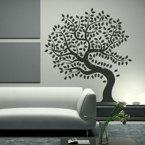 Amazing huge tree of life wall art decal sticker giant tattoo picture print tr16 ebay