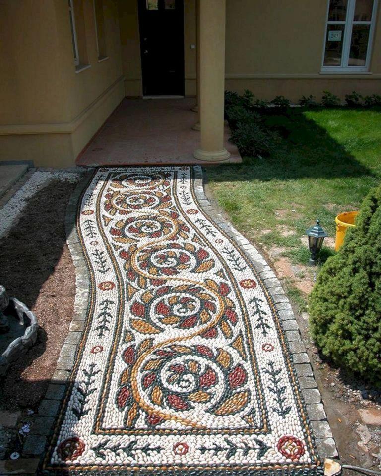 17 extraordinary mosaic garden path design ideas to your on extraordinary garden stone pathway ideas to copy id=45240