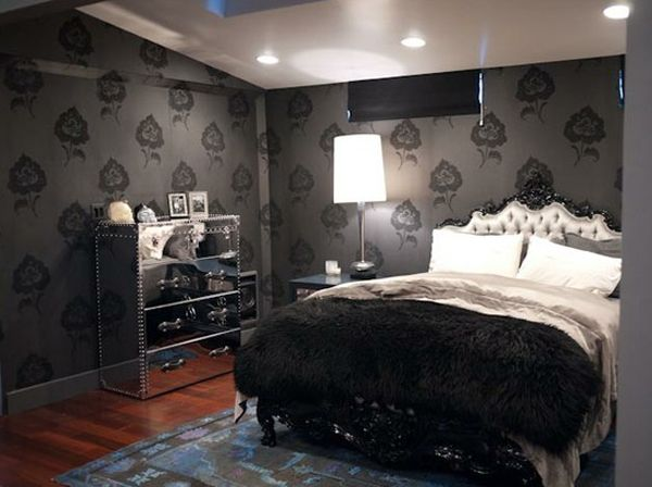 25 Surprisingly Stylish Gothic Bedroom Design And Ideas | Gothic