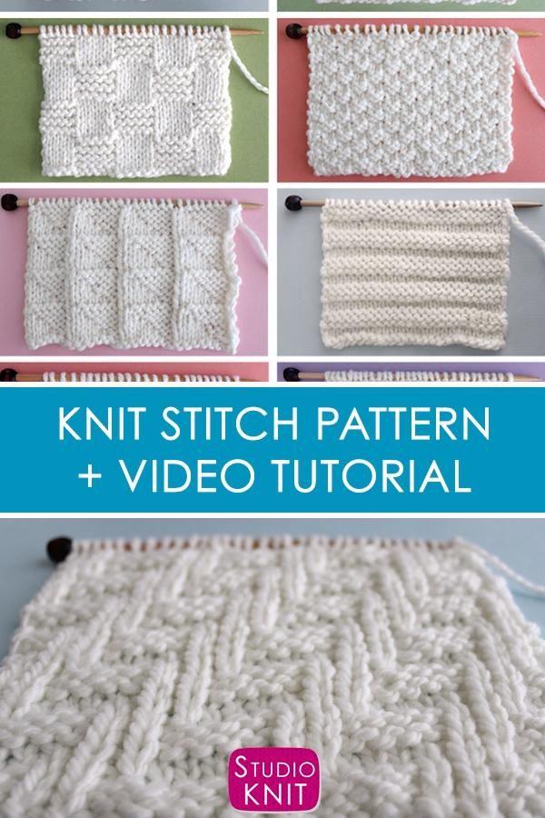 Motif de tricot en point zigzag en diagonale Chevron - Knit Stitch Patterns - Vintage - Couture