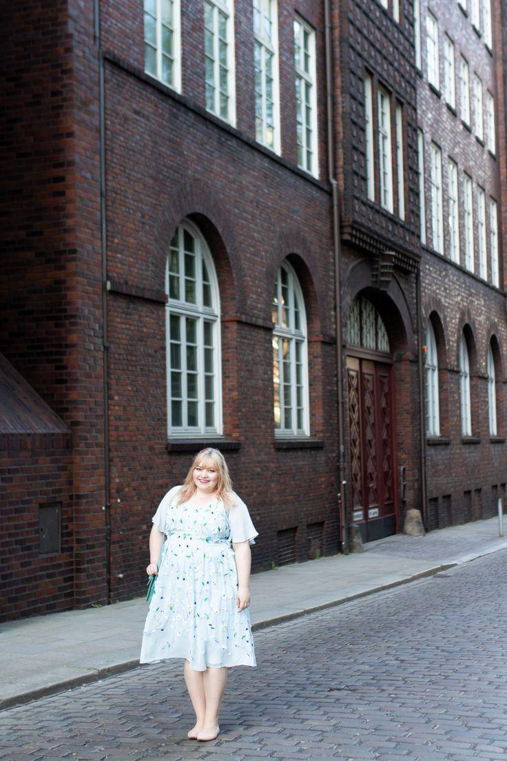 Hochzeit in Hamburg {mein Plus Size Hochzeitsgast Outfit ...