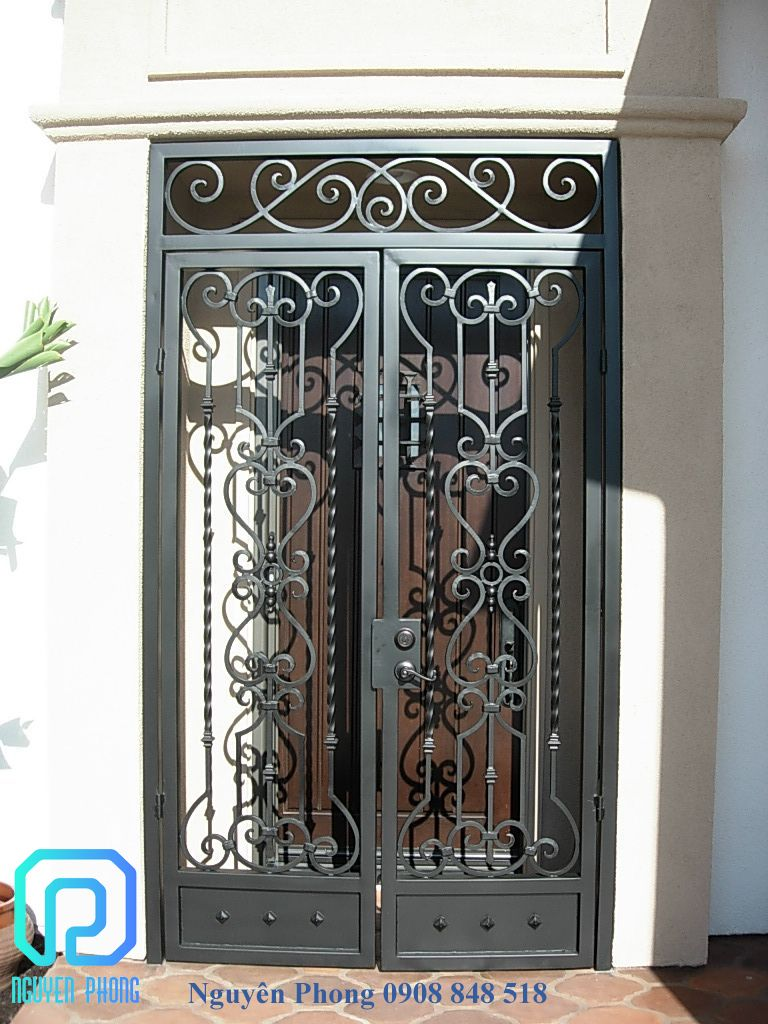 Wrought Iron Door Main Entry Door Iron Window Grill Design Metal Gate Design In 2020 Wrought Iron Doors Wrought Iron Doors Front Entrances Metal Doors Design