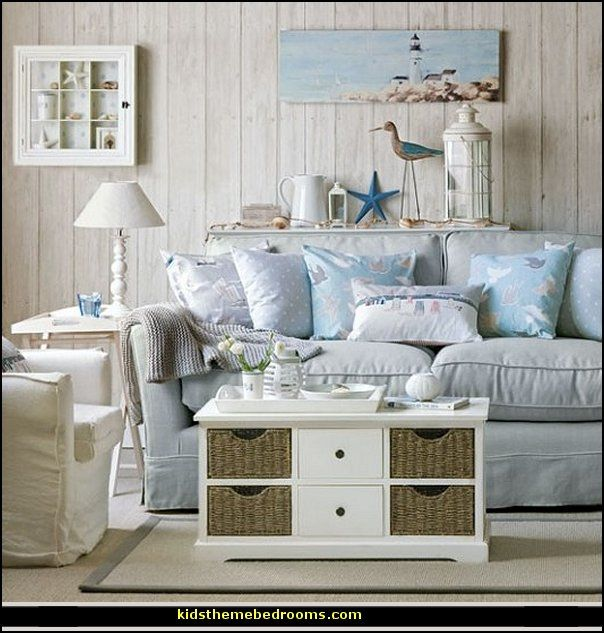 Coastal Style Decorating | ... Style+decorating+ideas Beach+cottage