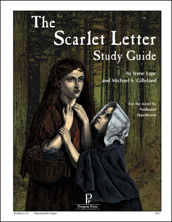 Progeny Press Scarlet Letter Study Guide Study guide